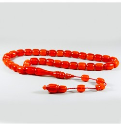 Bakalit Kehribar Renk Almış orange Rengi Sistemli 11*13mm 83