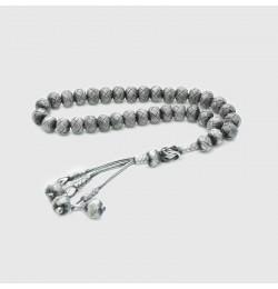Kazaz Gümüş Tesbih Oksitli | 1000 ayar  gümüş |9mm |11